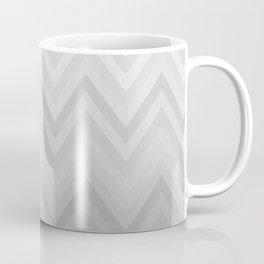 Chevron Fade Grey Coffee Mug