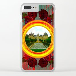 LIKE TO KEEP MY MEMORIES IN STYLE - RUSTIC BAROQUE - FRENCH CHATEAU Clear iPhone Case