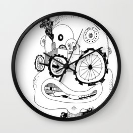 Burned out Wall Clock