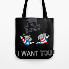 Uncle Scam Tote Bag
