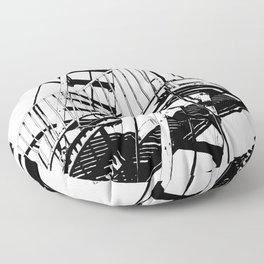 #inktober2016:escape Floor Pillow