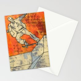 BackSide Tail. Stationery Cards