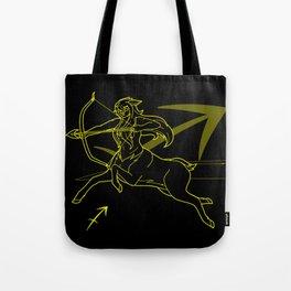 Monstrous Zodiacs: Sagittarius, the Alseid Tote Bag