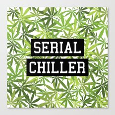 Serial Chiller Canvas Print