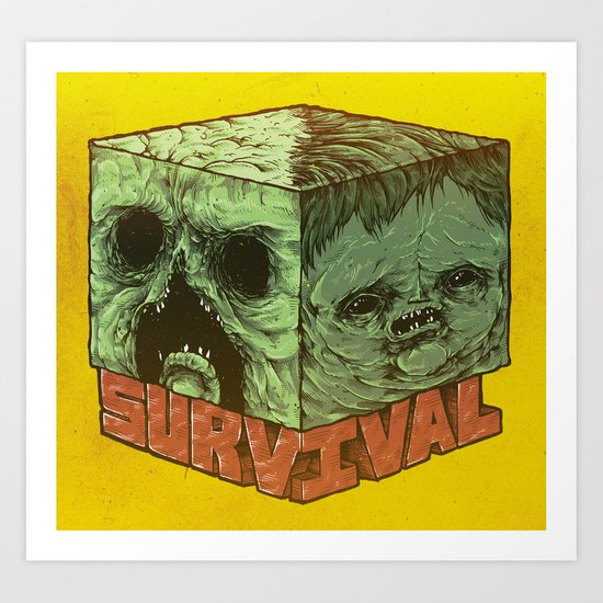 Survival Art Print