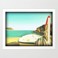 Skyline from you Art Print