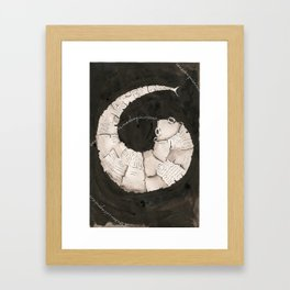 Curly Fish  Framed Art Print