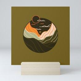 Line Scapes 2 Mini Art Print