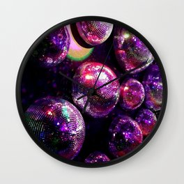 Disco Madness Wall Clock