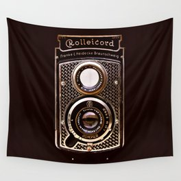 Rolleicord art deco Wall Tapestry