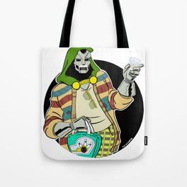 The Doom Abides Tote Bag