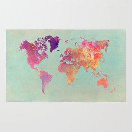 world map 102 #worldmap #map Rug