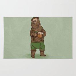 Traditional German Bear Rug
