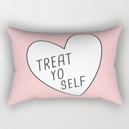 Treat Yo Self Rectangular Pillow