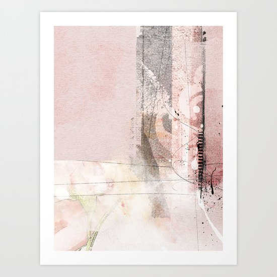 stiches Art Print