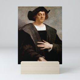 Christopher Columbus Portrait - Sebastiano del Piombo - 1519 Mini Art Print