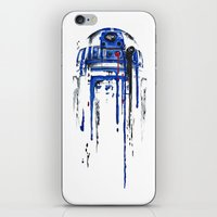 bright iPhone & iPod Skins featuring A blue hope 2 by SMAFO