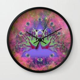 Hallucinogen Wall Clock