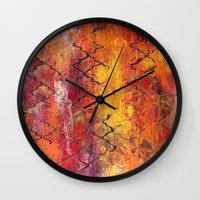 moroccan Wall Clocks featuring Moroccan  by Liz Moran