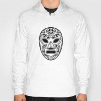 wrestling Hoodies featuring Mexican Wrestling Mask by T-SIR | Oscar Postigo