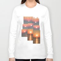 sunrise Long Sleeve T-shirts featuring Sunrise by alkinoos
