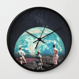 Don't Worry, the Kids will be Alright Wall Clock