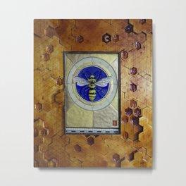 Dance of the Honey Bee Metal Print