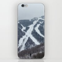 vermont iPhone & iPod Skins featuring Killington Vermont by BACK to THE ROOTS