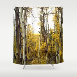 An Aspen Groves View Shower Curtain