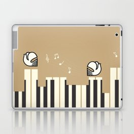 Music makes me happy Laptop & iPad Skin