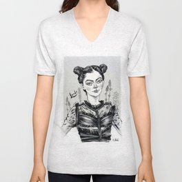 Lorde Outside lands Unisex V-Neck