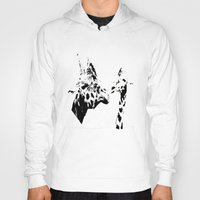 giraffes Hoodies featuring Giraffes  by Digital-Art
