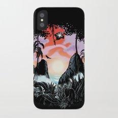 Black orchid Slim Case iPhone X