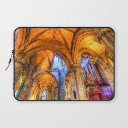 St Giles Cathedral Edinburgh Scotland Laptop Sleeve
