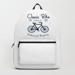 Classic Bike Riding Professional Bicycling Club Cyclist Backpack