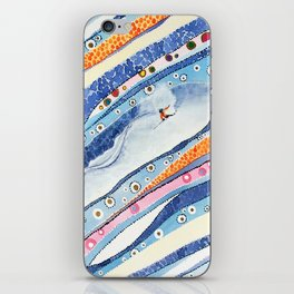 Spine Lines iPhone Skin