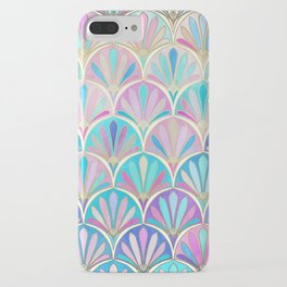 Glamorous Twenties Art Deco Pastel Pattern iPhone Case