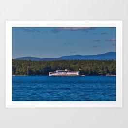 MS Mount Washington Art Print