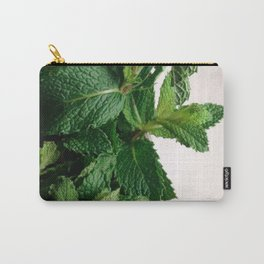 The Avant-Garden Forage || Mint Leaves  Carry-All Pouch