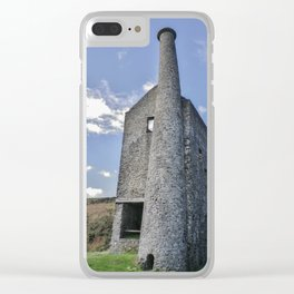 WHEAL BETSY MINE ENGINE HOUSE DARTMOOR Clear iPhone Case