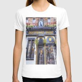 Greyfriars Bobby Pub edinburgh T-shirt
