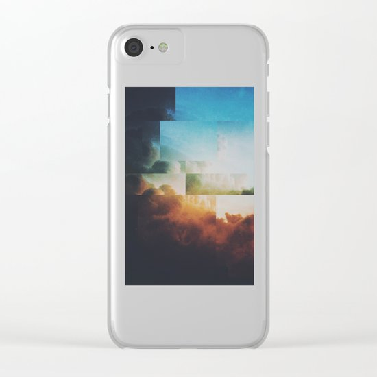 Fractions A41 Clear iPhone Case