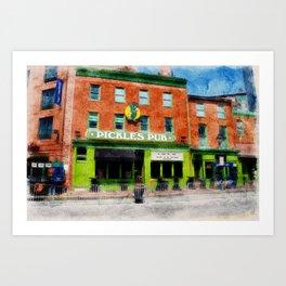 Pickles Pub, Camden Yards, Baltimore, Md. Art Print