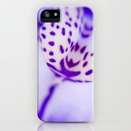 Playful Colors Orchid iPhone Case
