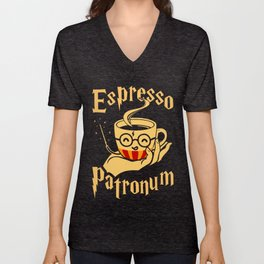 Espresso Patronum Unisex V-Neck