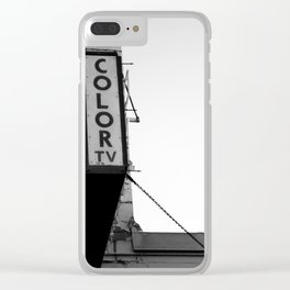 Color TV Clear iPhone Case