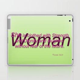 Woman of Strength Laptop & iPad Skin