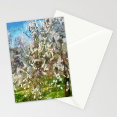 Almond Orchard Blossom Stationery Cards