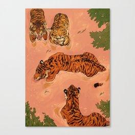 Tiger Beach Canvas Print