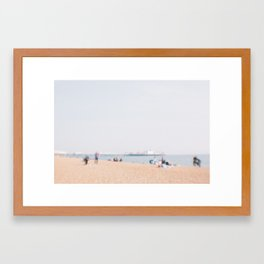 Brighton Beach Framed Art Print